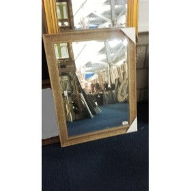 Spiegel met facet en lijst 64x94 cm