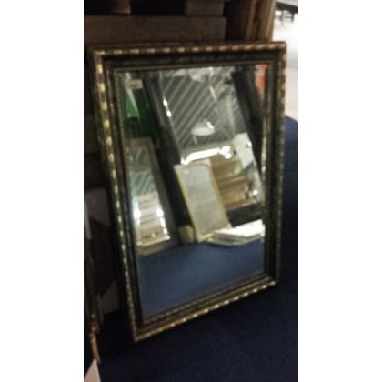 Spiegel met facet + lijst 76x105 cm