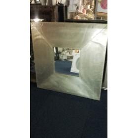 Spiegel vierkant met lijst 78x78 cm